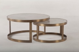 Marble & Iron Nesting Tables.. Now on Sale!