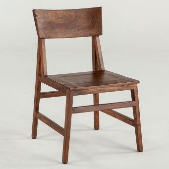 London Loft Walnut Chair