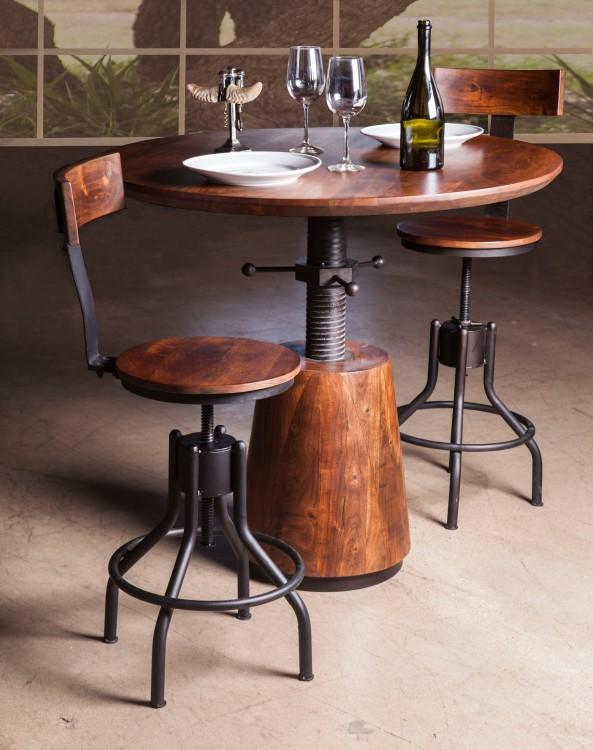 Industrial Modern Adjustable Height Table