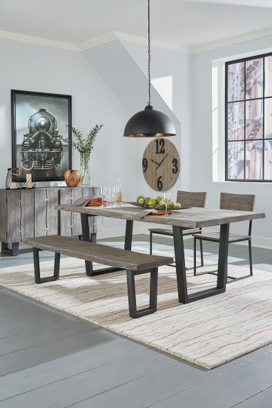 Steamboat dining table