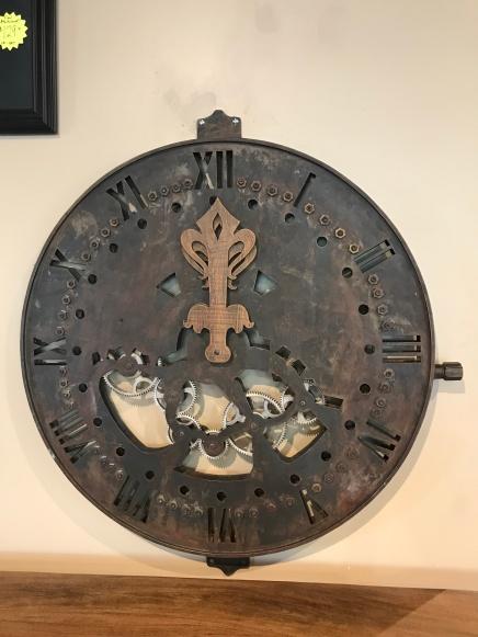New Steampunk clock