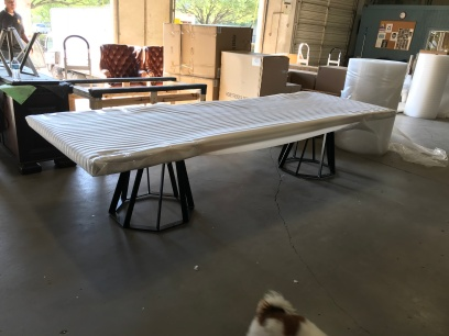 14' Custom Table with Drum Base