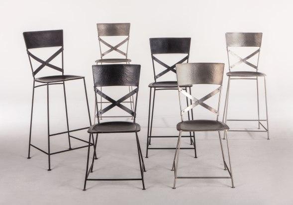 Industrial Loft Metal chairs