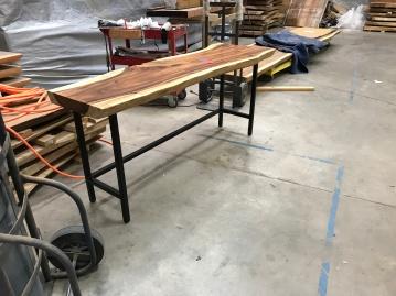 1 square tubing:natural:satin:desk height2