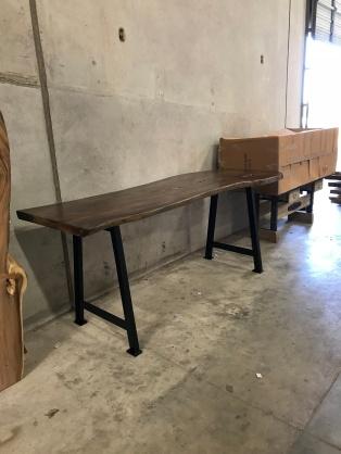 Graphite Finish - A-Frame bar height base