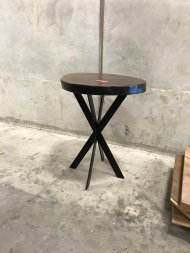 Graphite/Black Edge with Star base counter height
