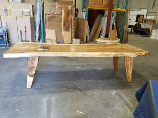 T301-4-DT-LEG BASE WITH 10' TOP