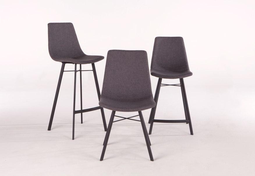 NEW Sam Chair in Dark Grey Linen