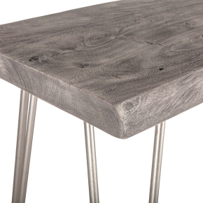 Vail Console in Weathered Grey